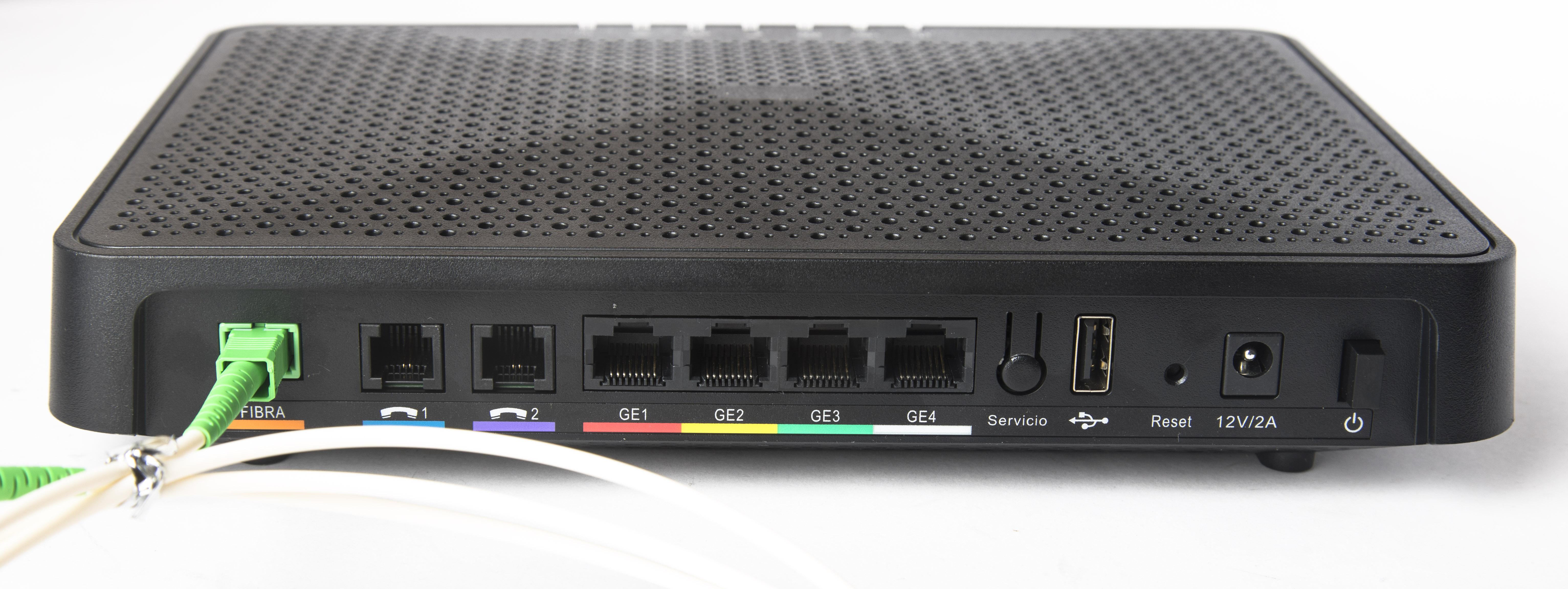 Resultado de imagen de router fibra orange