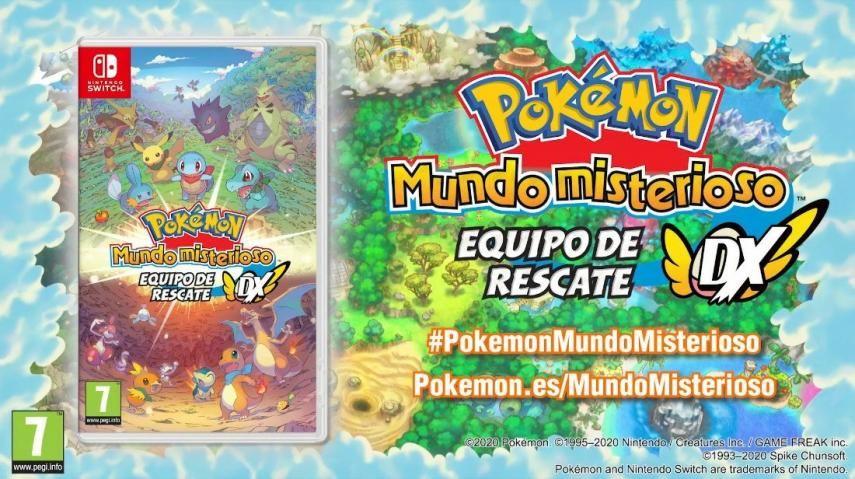 Pokémon Mundo Misterioso vuelve a escena!!! Fuente: Hobbyconsolas (https://www.hobbyconsolas.com/reportajes/resumen-pokemon-direct-09-01-2020-dlc-pokemon-espada-escudo-todas-novedades-presentadas-559463)