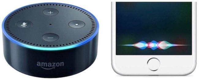 Alexa y Siri, un fenómeno social. Fuente: iOS Mac (https://iosmac.es/los-asistentes-de-voz-el-debate-entre-privacidad-y-comodidad.html)