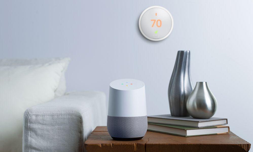 ¿Conocías el termostato de Google? Fuente: Vivint (https://www.vivint.com/resources/article/google-home-voice-commands-with-nest)