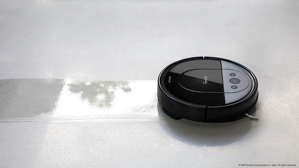 La integración de los robots aspiradores con Google Assistant, una realidad. Fuente: Cecotec (https://www.cecotec.es/conga-1690-pro)