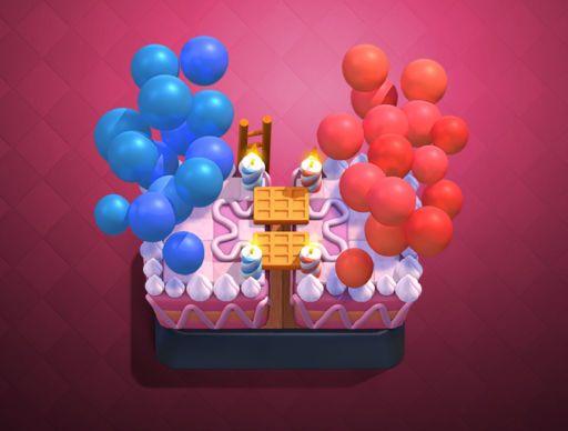 Qué empiece la fiesta!!! Fuente: Clashroyale (https://clashroyale.com/es/blog/release-notes/celebrating-4-years-of-clash-royale.html)