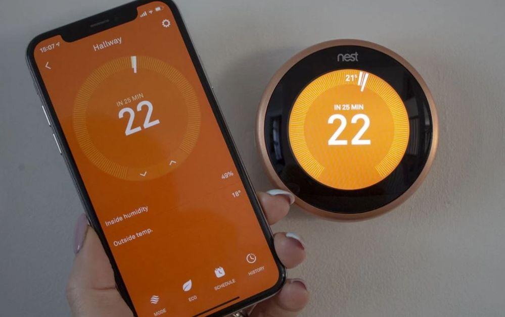 ¿Te has hecho ya con uno de estos dispositivos? Fuente: Pocket-lint (https://www.pocket-lint.com/smart-home/news/nest/148016-google-nest-learning-thermostat-tips-and-tricks)