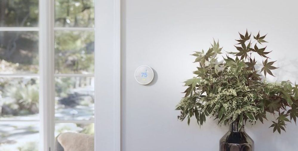 Tú eliges cómo controlar la temperatura de tu hogar. Fuente: MacRumors (https://www.macrumors.com/2017/08/31/nest-announces-the-thermostat-e-with-a-new-design-and-a-lower-price/)