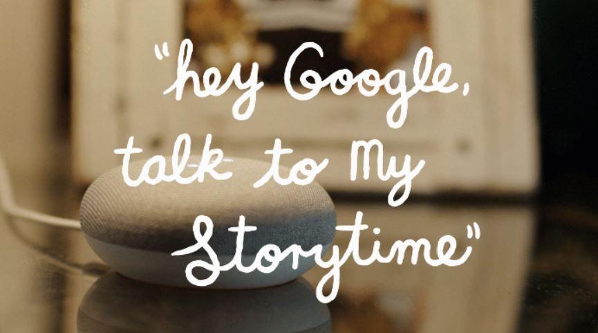 ¿Te gustaría probarlo? Fuente: El blog de Google (https://www.blog.google/products/google-nest/my-storytime/)