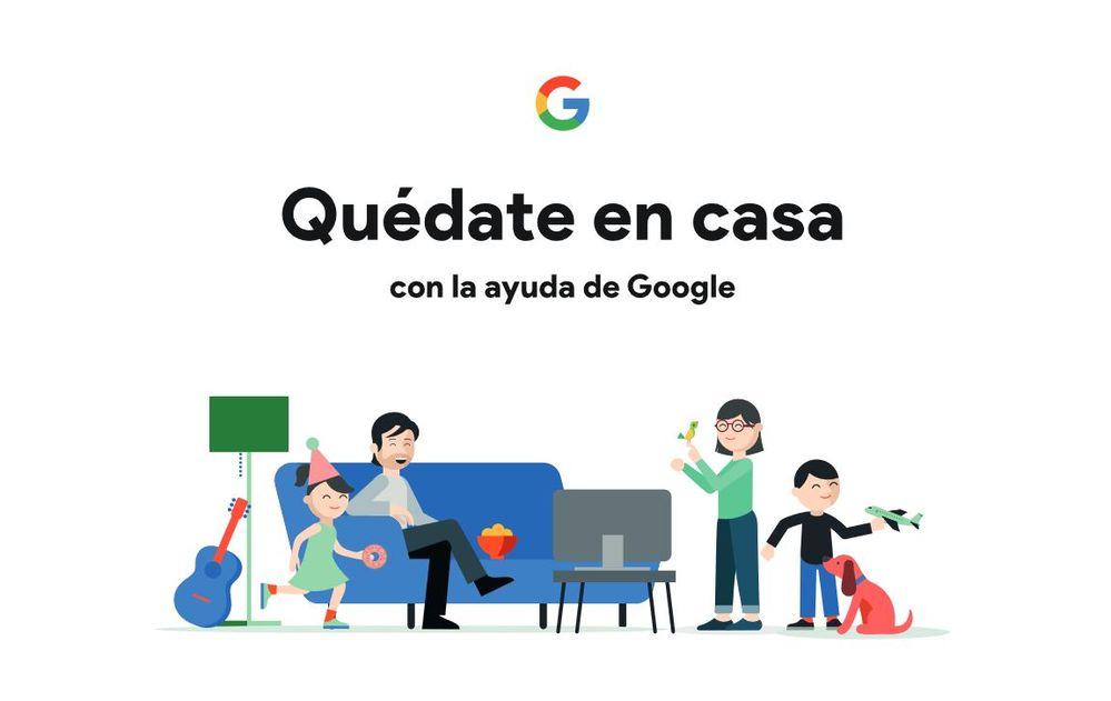 Nada como la ayuda de tu asistente en tiempos de confinamiento. Fuente: Google (https://storage.googleapis.com/gweb-activate-presenciales.appspot.com/quedate-en-casa-con-la-ayuda-de-google.pdf)