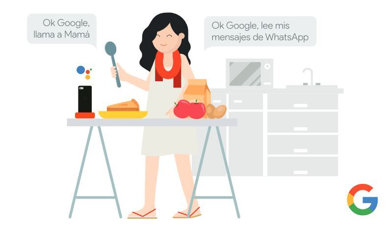 Hoy más que nunca, cerca de tus seres queridos. Fuente: Google (https://storage.googleapis.com/gweb-activate-presenciales.appspot.com/quedate-en-casa-con-la-ayuda-de-google.pdf)