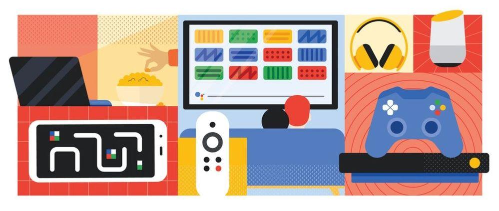¡Que no decaiga el ánimo! Fuente: El Blog de Google (https://www.blog.google/products/android-tv/stay-entertained-at-home/)