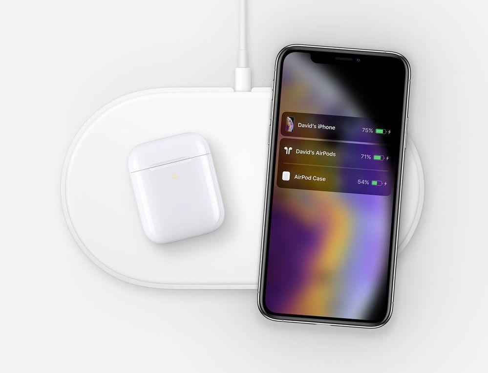 Muy pronto, ésta será la estampa más habitual. Fuente: Applesfera (https://www.applesfera.com/accesorios/descubierta-imagen-airpower-iphone-xs-nuevos-airpods)