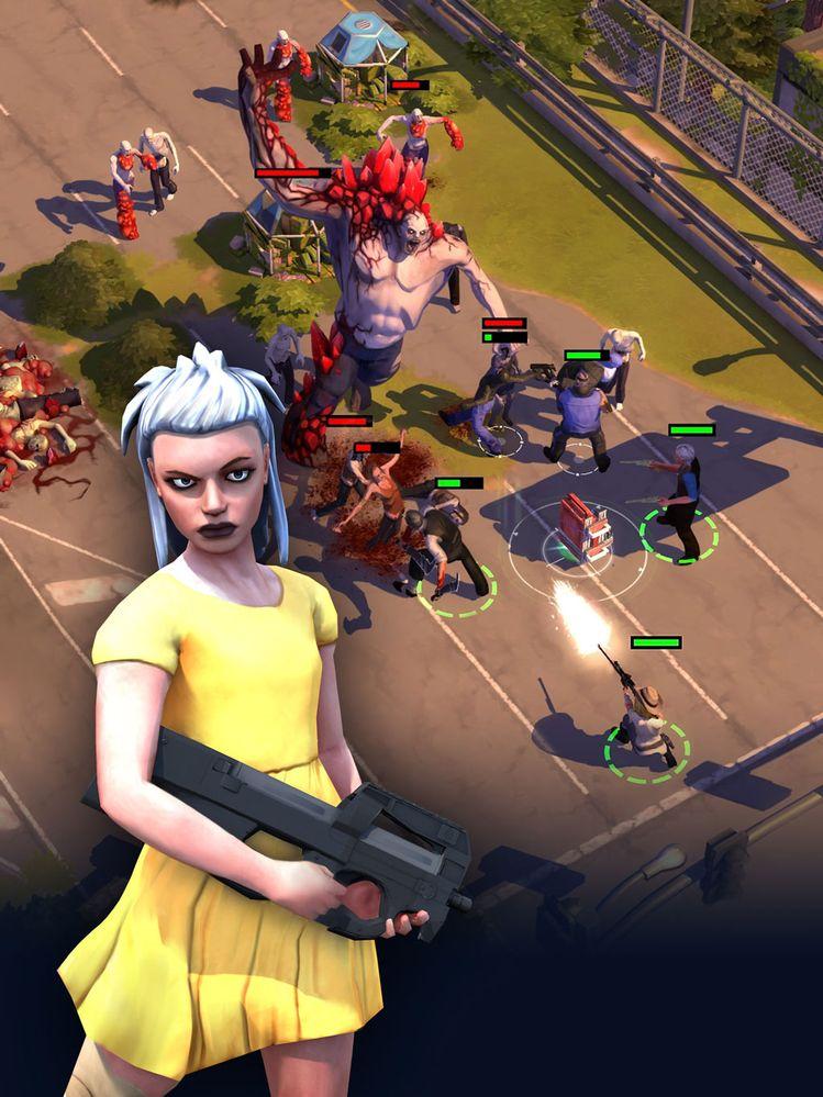 También hay de zombies!! Fuente: Gameloft (https://www.gameloft.com/es/game/zombie-anarchy)