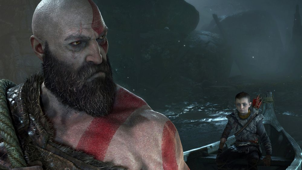 Ahora le ha tocado a God of War. Fuente: Play Station (https://www.playstation.com/es-es/games/god-of-war-ps4/videos-and-screens/)