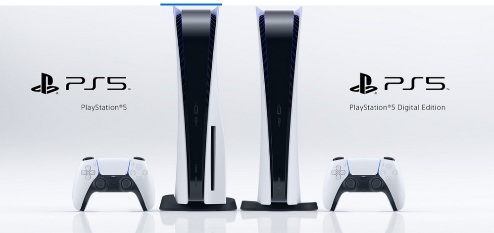 Elegís versión estándar o digital?? Fuente: Play Station (https://www.playstation.com/es-es/ps5/)