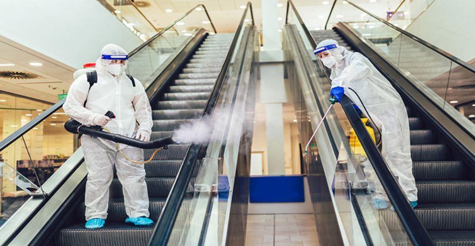 Semáforos, higienización con ozono, todo tipo de precauciones para mantener a raya el coronavirus. Fuente: CEPYME NEWS (https://cepymenews.es/apertura-centros-comerciales-guia-proteger-salud-coronavirus/)
