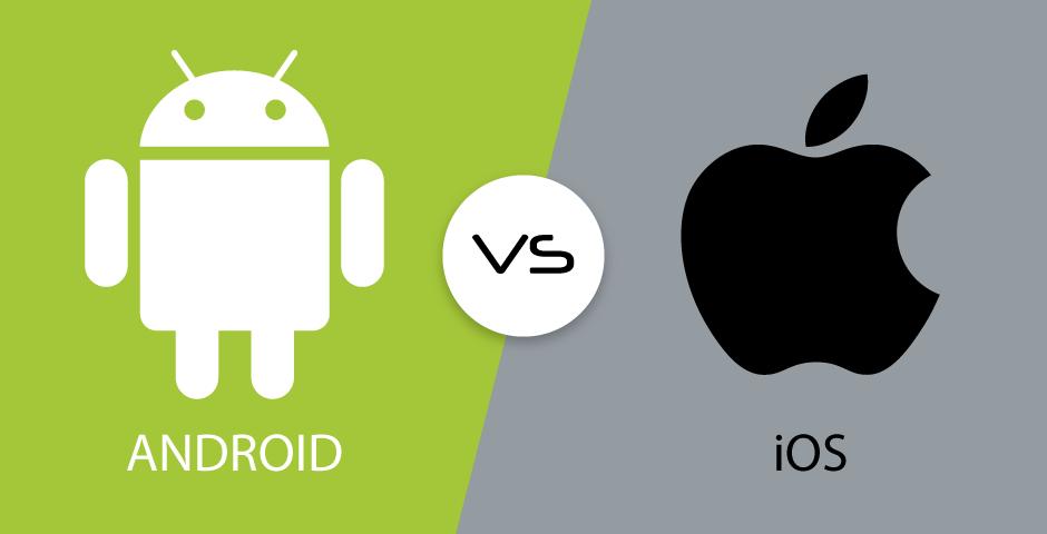 Quién ganará la batalla de la innovación, ¿Apple o Android? Fuente: Blummi (https://bluumi.net/diferencias-entre-ios-y-android/)