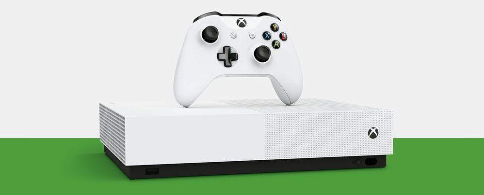 La hermana pequeña. Fuente: Xbox (https://www.xbox.com/es-ES/consoles/xbox-one-s/all-digital-edition)