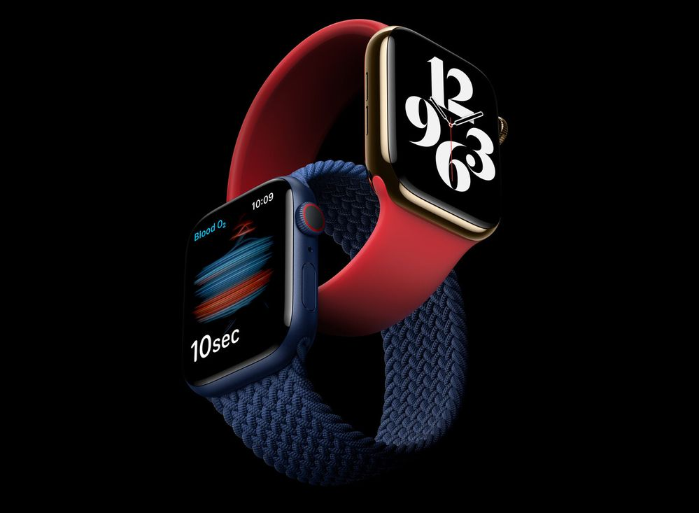 Los nuevos Apple Watch, ideales para ser fitness y cuidar de tu salud. Fuente: AppleSfera (https://www.applesfera.com/apple-watch/nuevo-apple-watch-series-6-trae-sensor-oxigeno-termometro-corporal-nuevo-procesador)