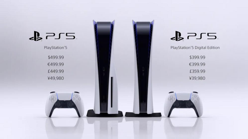 Qué versión vais a elegir?? Fuente: Blog PlayStation (https://blog.es.playstation.com/2020/09/17/playstation-5-llega-en-noviembre-por-399-e-la-digital-edition-y-499-e-la-version-con-disco-ultra-hd-blu-ray/)