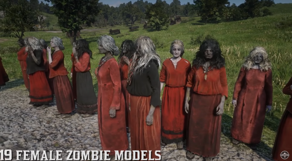 Pedazo de ejército!!! Fuente: Playerone (https://www.playerone.vg/2020/09/22/zombie-red-dead-redemption-2-filtracion/)