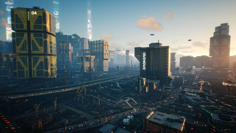Una ciudad de contrastes. Fuente: Night City (https://www.nightcity.love/es/)