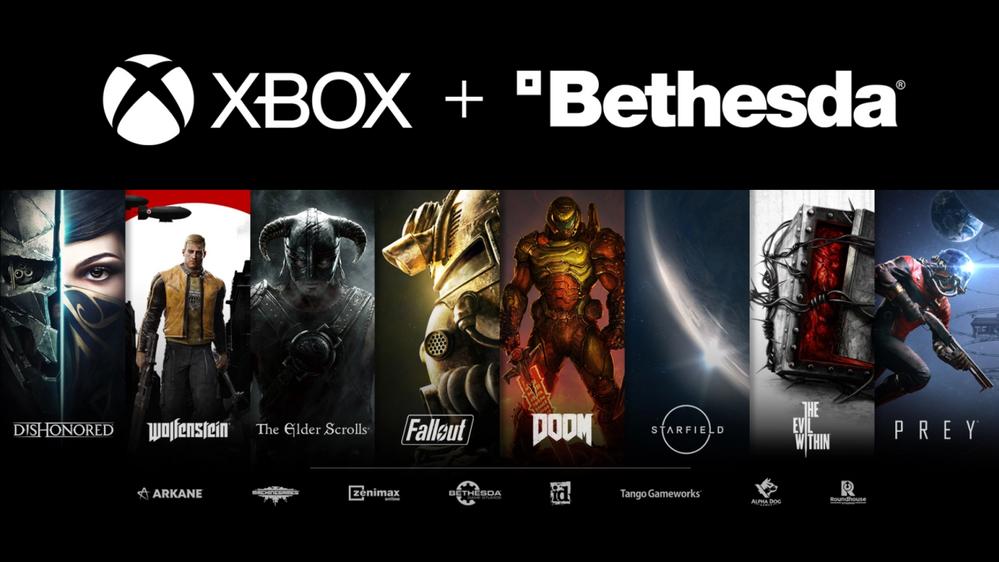 Jugada maestra!! Fuente: Blog Xbox (https://news.xbox.com/en-us/2020/09/21/welcoming-bethesda-to-the-xbox-family/)