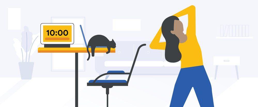 ¿Cómo estás afrontando estos meses de teletrabajo? Fuente: El blog de Google (https://blog.google/products/assistant/get-better-handle-work-day-home-google/)