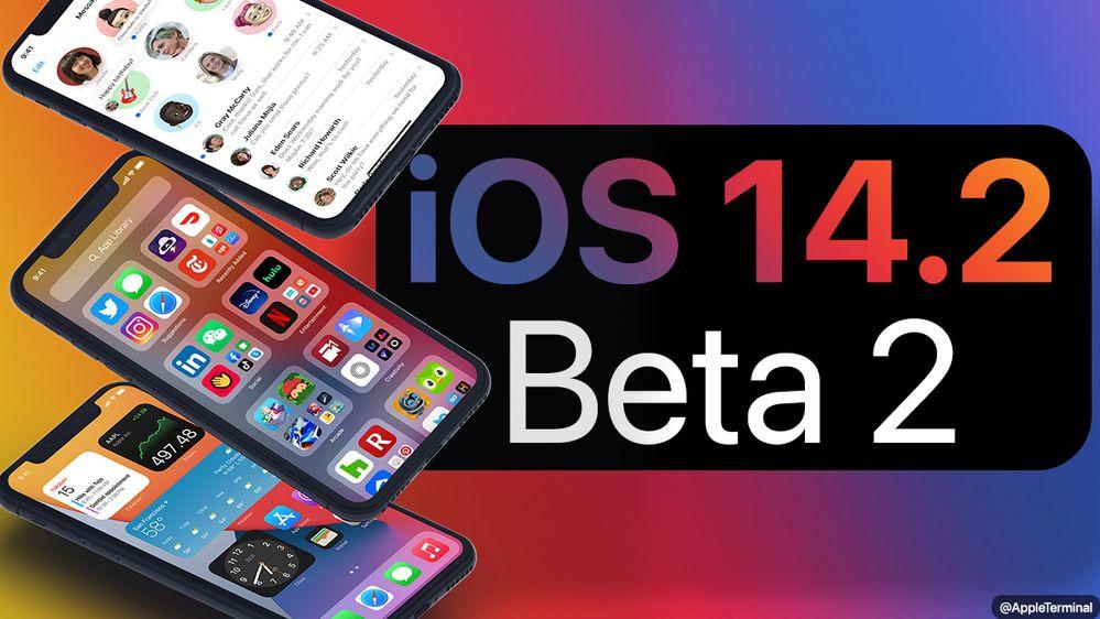 ¡La nueva beta de iOS 14 ya está disponible! Fuente: Appleterm (https://appleterm.com/2020/09/29/apple-seeds-ios-and-ipados-14-2-beta-2-to-developers/)