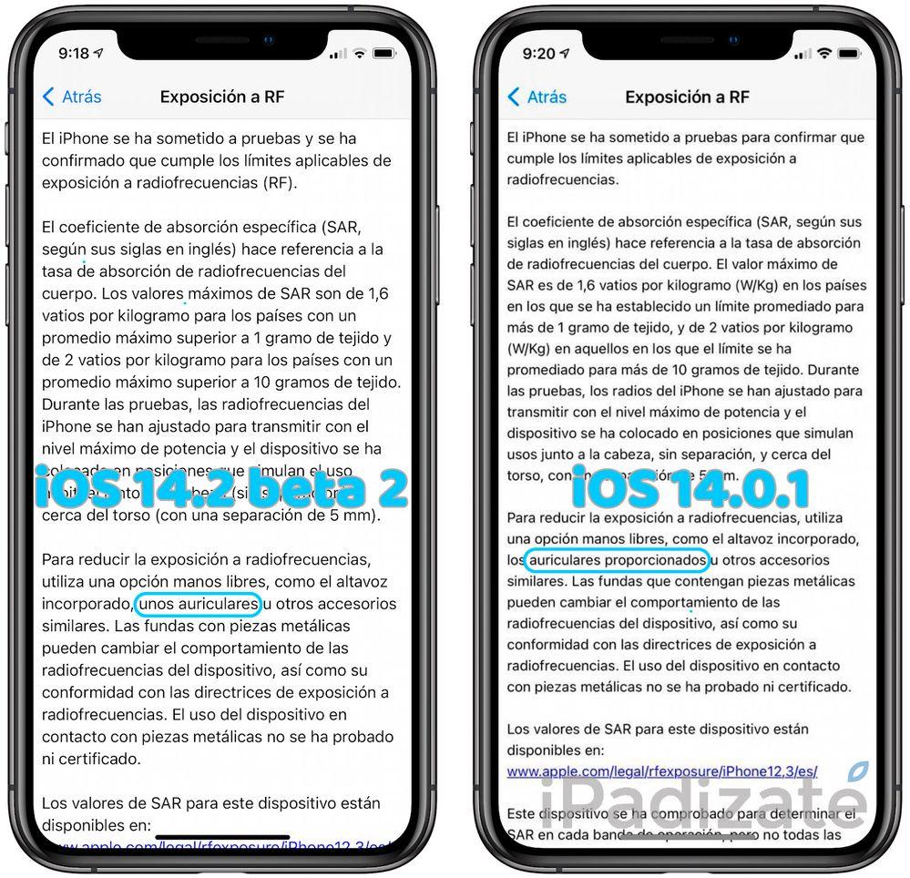 Es hora de decir adiós a los auriculares y cargador en los iPhone. Fuente: iPadízate (https://www.ipadizate.es/2020/09/30/ios-14-2-confirma-que-no-veremos-auriculares-en-la-caja-del-iphone-12/?utm_source=feedly&utm_medium=webfeeds&utm_campaign=Feed%3A+ipadizate+%28iPadizate%29)