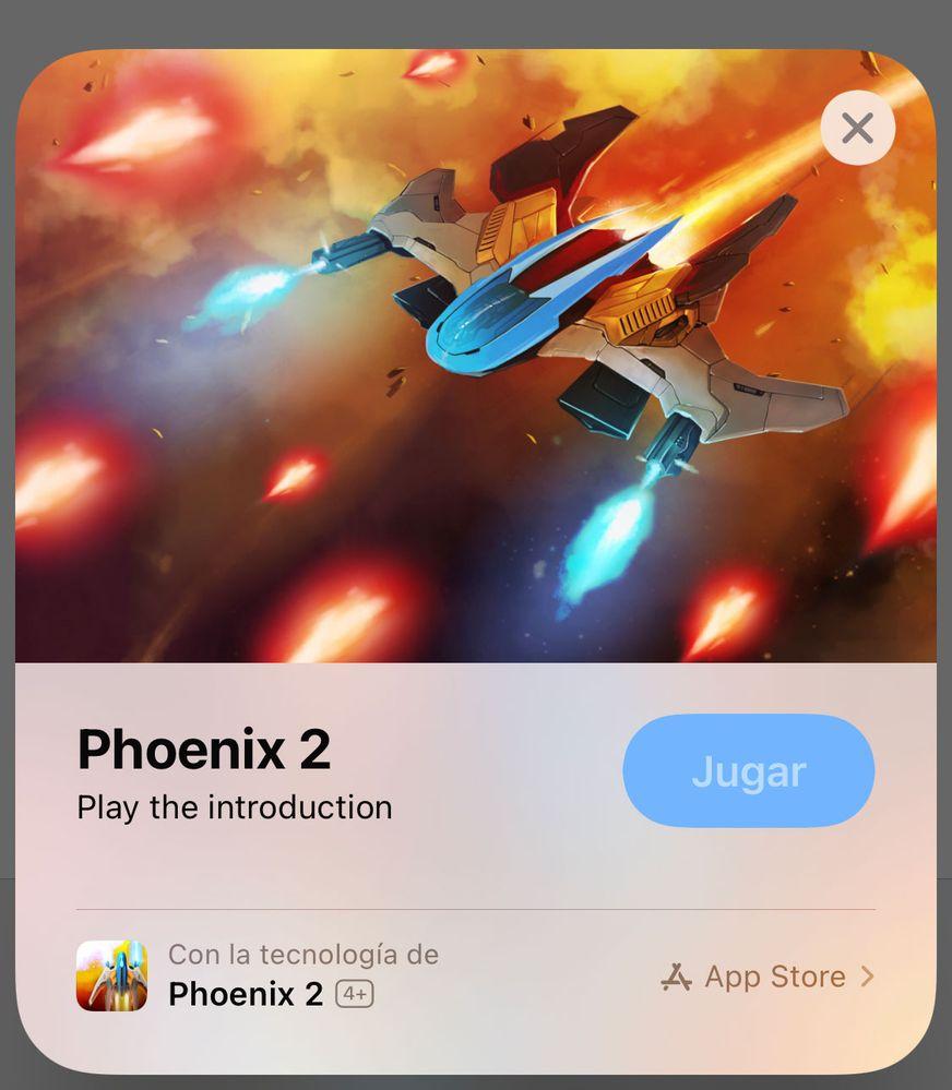 Bájalo sólo si te convence!! Fuente: iPhoneros (https://iphoneros.com/78105/app-clip-demostracion-phoenix-2)