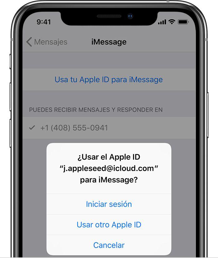 Configurar iMessage es muy sencillo, ¿te animas a usarlo? Fuente: Apple (https://support.apple.com/es-lamr/HT201349)