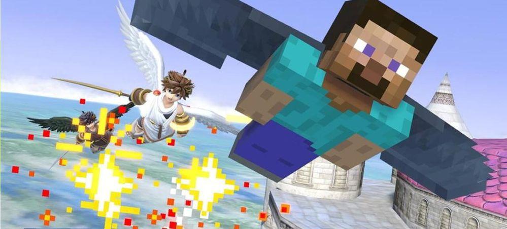 Dos titulazos unidos!! Fuente: Levelup (https://www.levelup.com/noticias/593926/Super-Smash-Bros-Ultimate-el-DLC-de-Minecraft-ya-tiene-fecha-de-estreno)