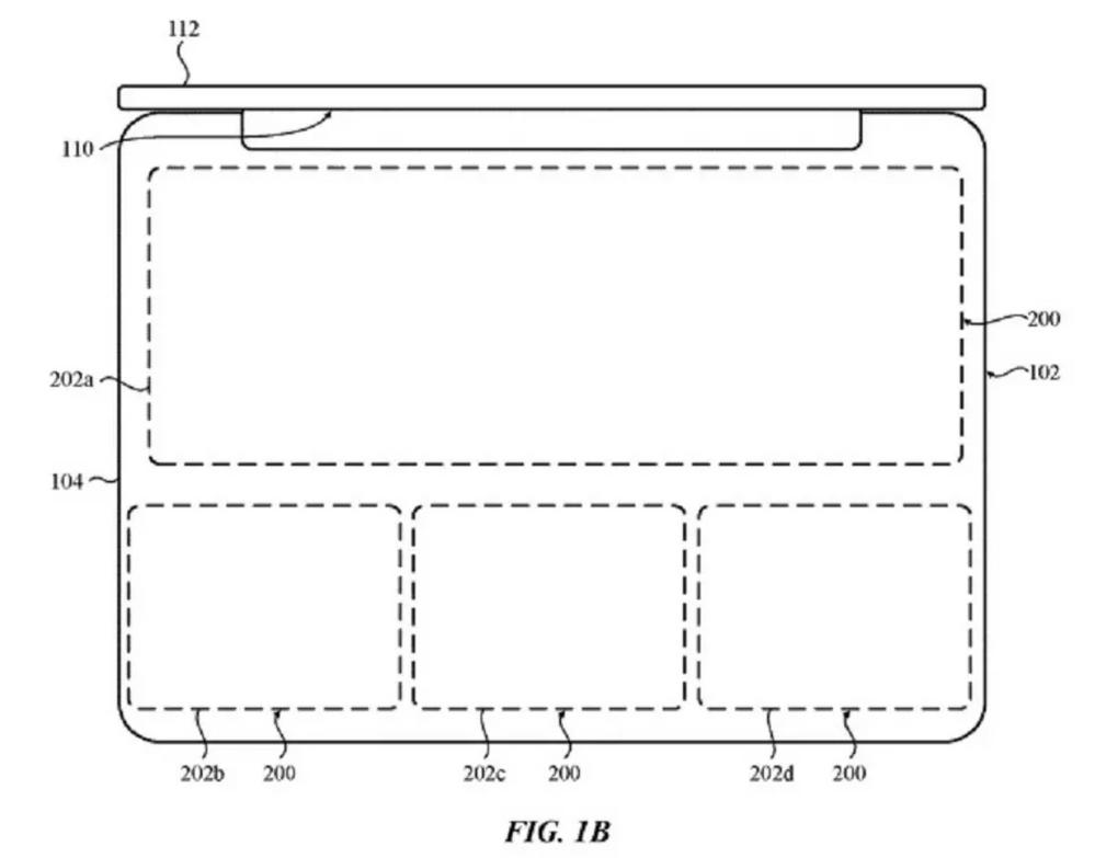 Un sistema de sensores a presión, la nueva patente de Apple. Fuente: SoydeMac (https://www.soydemac.com/una-nueva-patente-apuesta-por-un-teclado-virtual-en-el-macbook/?utm_source=feedburner&utm_medium=feed&utm_campaign=Feed%3A+SoyDeMac+%28Soy+de+Mac%29)