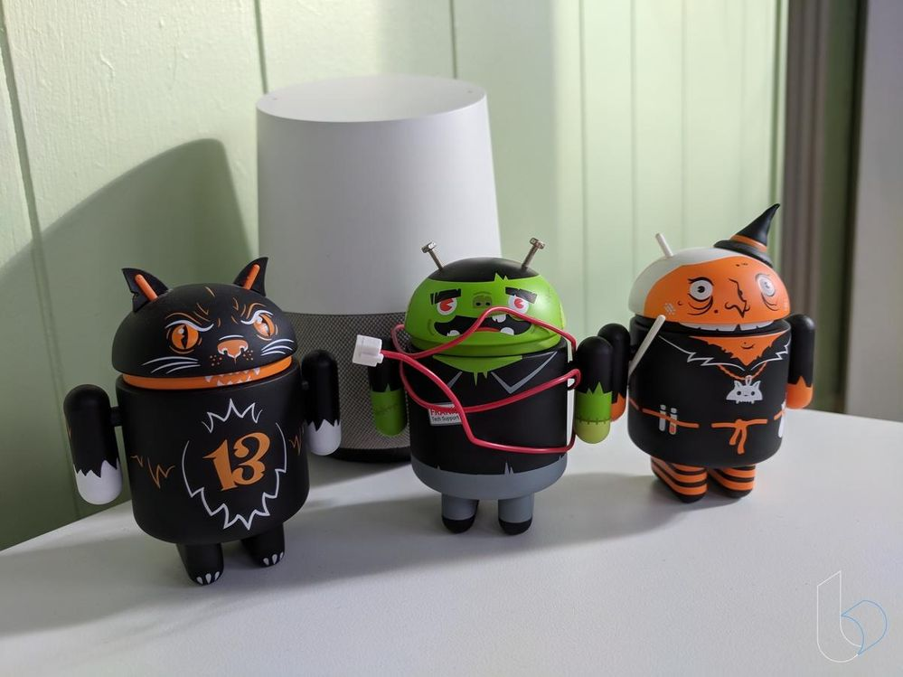 Nest Mini, tu aliado para disfrutar de Halloween. Fuente: Technobuffalo (https://www.technobuffalo.com/google-home-halloween)