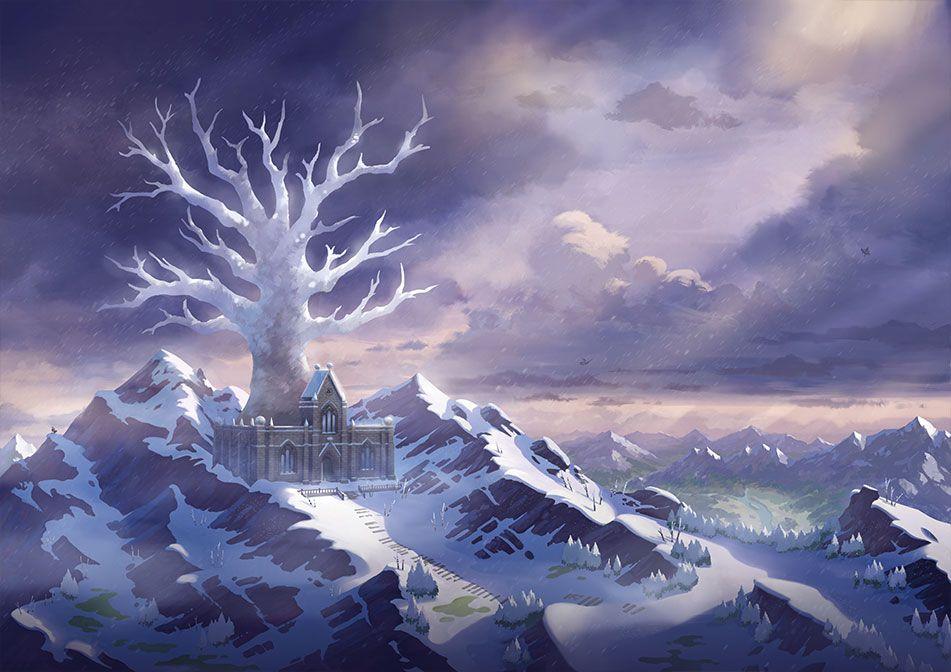 Aventuras entre la nieve!! Fuente: Pokémon (https://swordshield.pokemon.com/es-es/expansionpass/the-crown-tundra/)