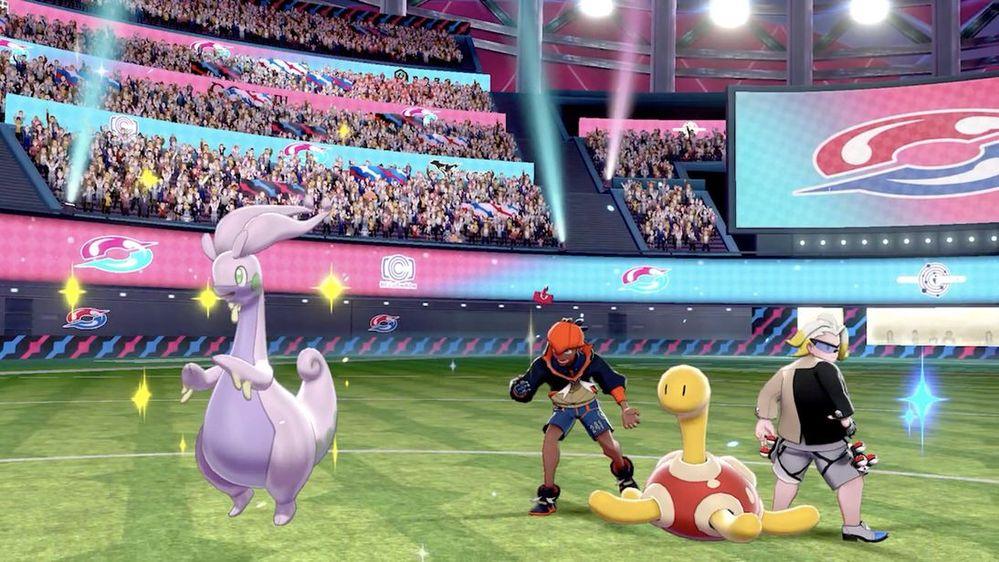 Qué comience el torneo!! Fuente: Pokémon (https://swordshield.pokemon.com/es-es/expansionpass/features/)