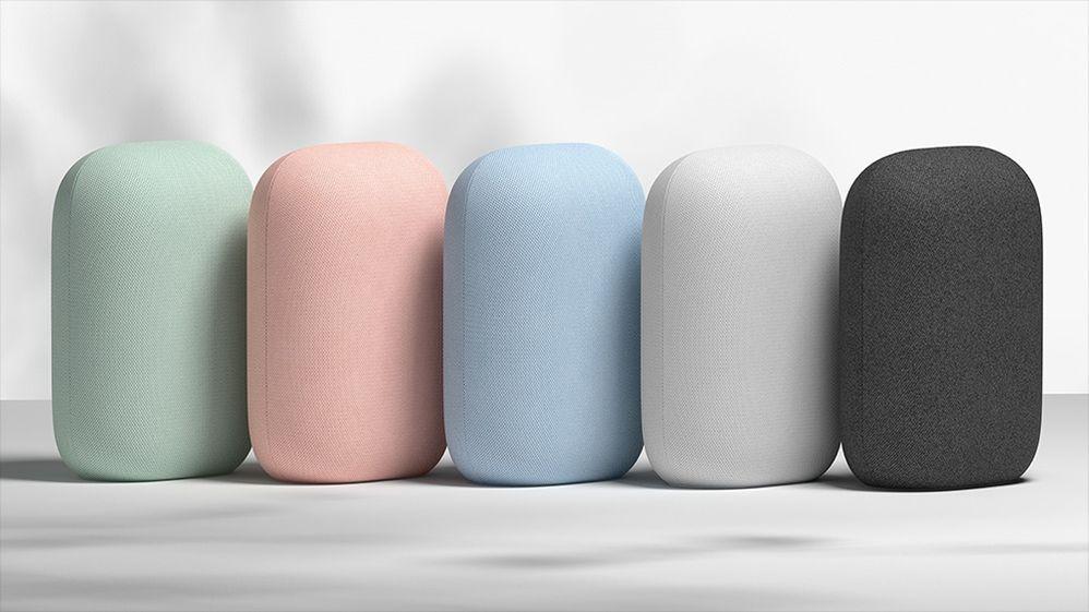 ¿Has visto cuántos colores tienes para elegir? Fuente: Teknofilo (https://www.teknofilo.com/google-nest-audio-un-altavoz-inteligente-para-amantes-de-la-musica/)