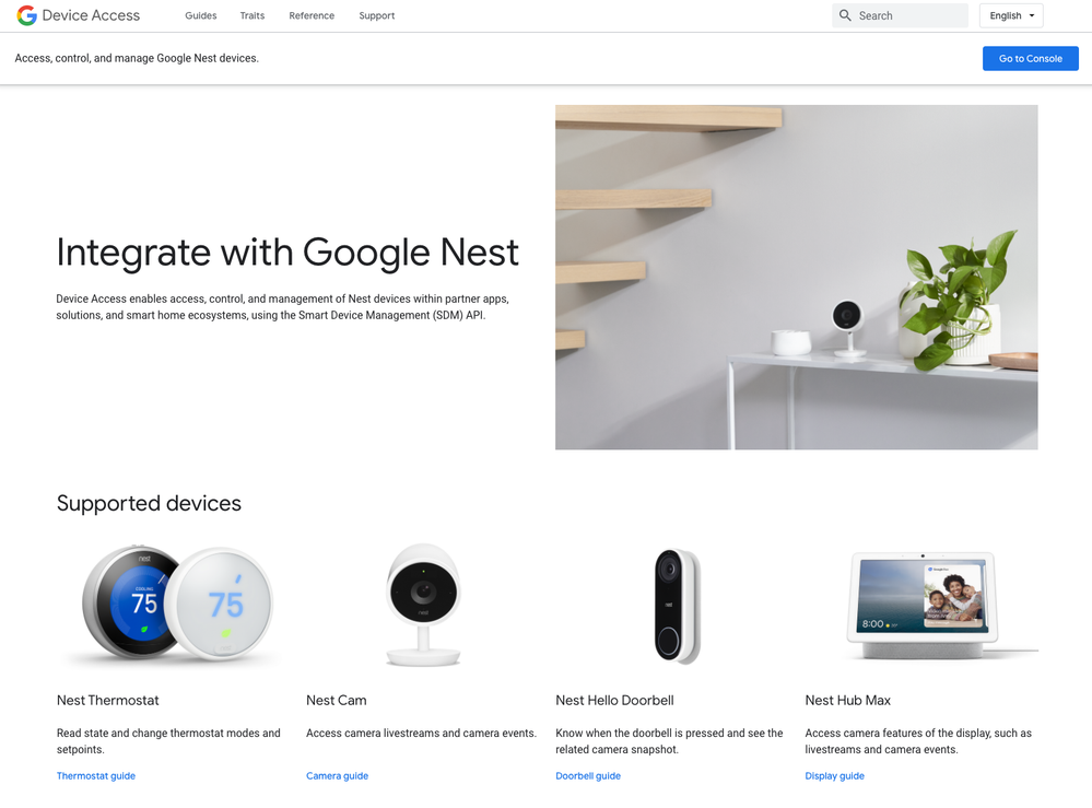 Un mundo de posibilidades a partir de ahora. Fuente: Google Developers (https://developers.googleblog.com/2020/09/google-nest-device-access-console.html)