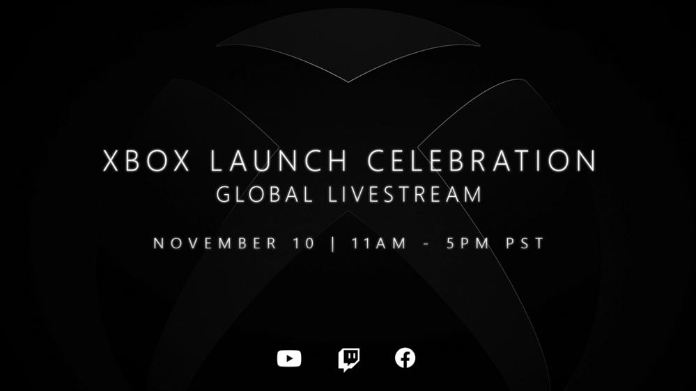 Una celebración por todo lo alto!!! Fuente: Xbox (https://news.xbox.com/en-us/2020/11/06/xbox-global-launch-celebration-details/)