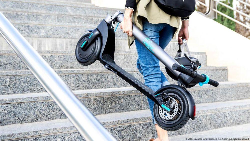 La movilidad sostenible no es tan cara. Fuente: Computer Hoy (https://computerhoy.com/listas/motor/patinetes-electricos-cecotec-guia-compra-todos-modelos-369503)