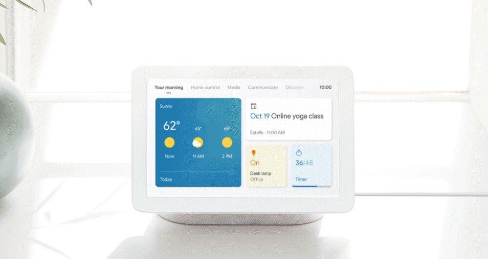 Si tuvieras que elegir una funcionalidad favorita, ¿cuál elegirías? Fuente: Xataka Android (https://www.xatakandroid.com/gadgets-android/google-actualiza-sus-pantallas-inteligentes-nueva-interfaz-tema-oscuro-novedades)