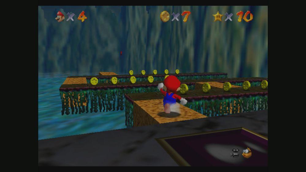 Os gustaría que llegara una versión jugable de Luigi?? Fuente: Nintendo (https://www.nintendo.es/Juegos/Nintendo-64/Super-Mario-64-269745.html#Galer_a)