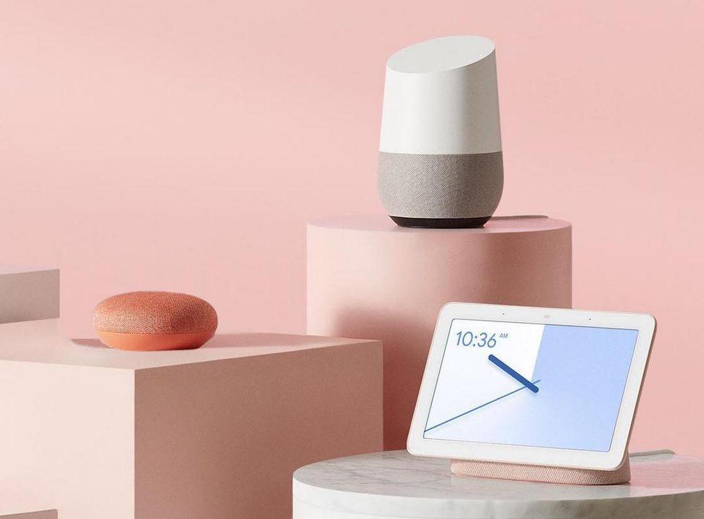 ¿Qué villancico le pedirás a tus dispositivos inteligentes? Fuente: Computer HOY (https://computerhoy.com/listas/tecnologia/altavoz-google-home-cual-es-mejor-532895)