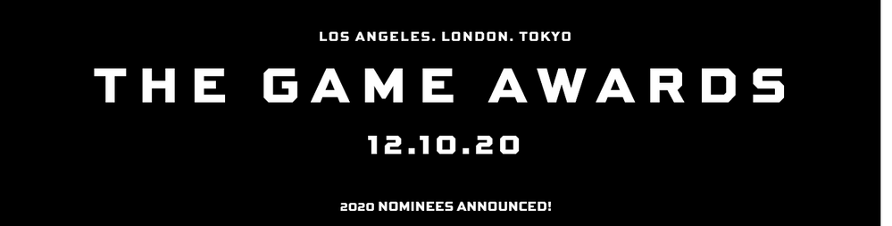 Ya están aquí… Fuente: The Game Awards (https://thegameawards.com/)