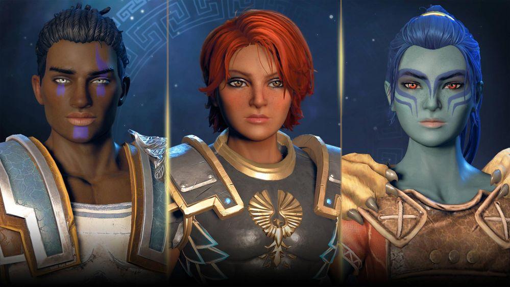 Podremos personalizar totalmente a Fenyx!! Fuente: Ubisoft (https://www.ubisoft.com/es-es/game/immortals-fenyx-rising9)
