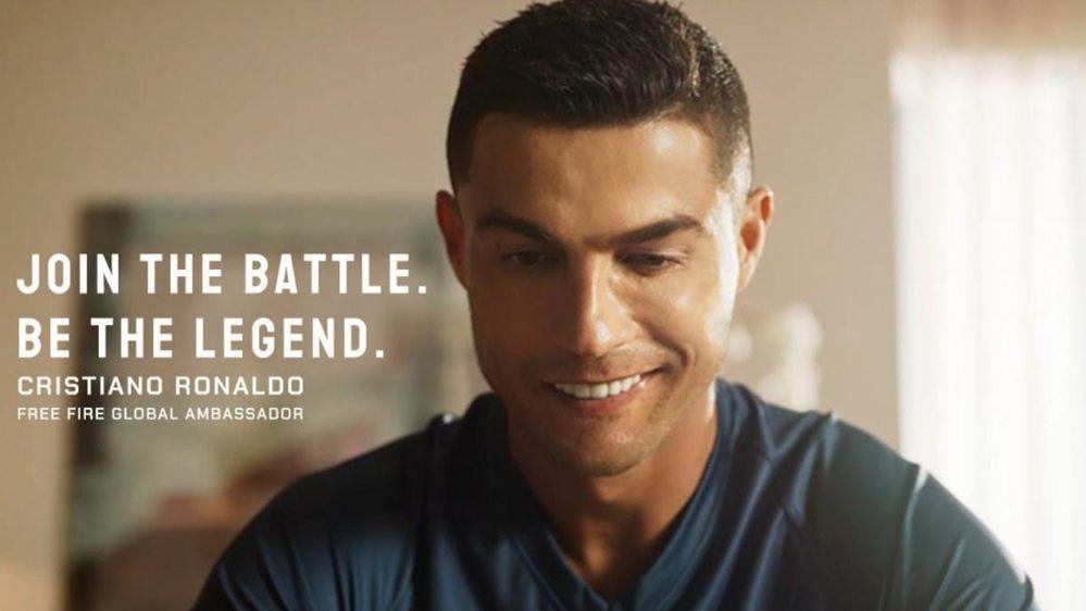 De futbolista a guerrero!! Fuente: Hobbyconsolas (https://www.hobbyconsolas.com/noticias/cristiano-ronaldo-convierte-guerrero-cyberpunk-battle-royale-garena-free-fire-769723)