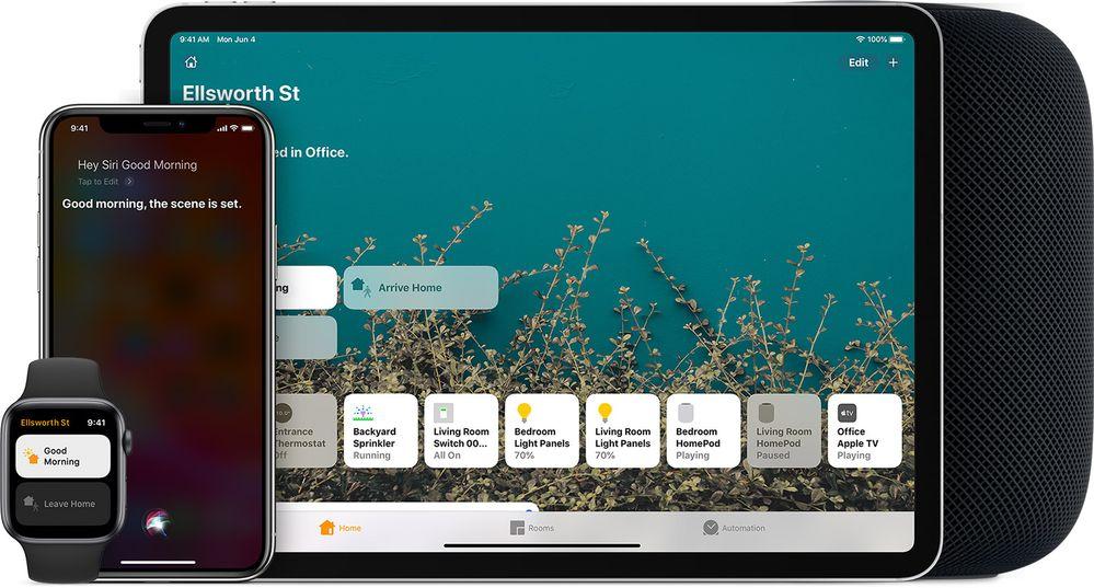 Sofá, serie y manta, sin tener que levantarte a apagar las luces. Fuente: iPadízate (https://support.apple.com/es-es/HT208280)