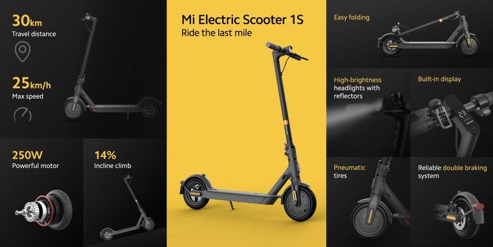 Sus características son espectaculares. Fuente: Xiaomi Adictos (https://www.xiaomiadictos.com/xiaomi-mi-electric-scooter-1s-y-mi-electric-scooter-pro-2-dos-patinetes-electricos-con-ciertas-mejoras/)
