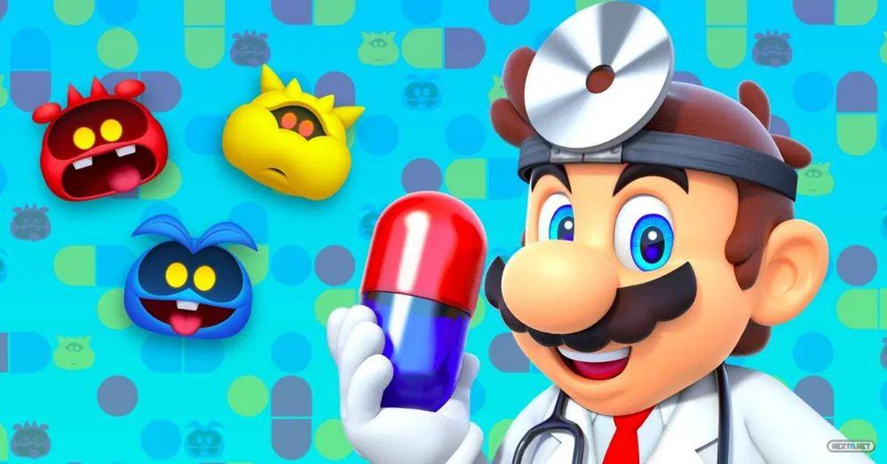 El Dr. Mario quiere aumentar la plantilla… Fuente: Nextn (https://www.nextn.es/2020/12/dr-mario-world-planta-pirana-grupo-medicos/)