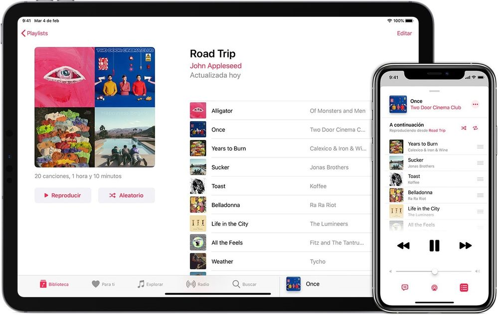 Variedad y comodidad en Apple Music. Fuente: La Manzana Mordida (https://lamanzanamordida.net/aplicaciones/recomendadas/como-es-apple-music/)