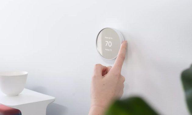 Más pequeño, pero no menos eficaz. Fuente: Muy Computer (https://www.muycomputer.com/2020/10/13/google-nest-termostato-smart-home/)