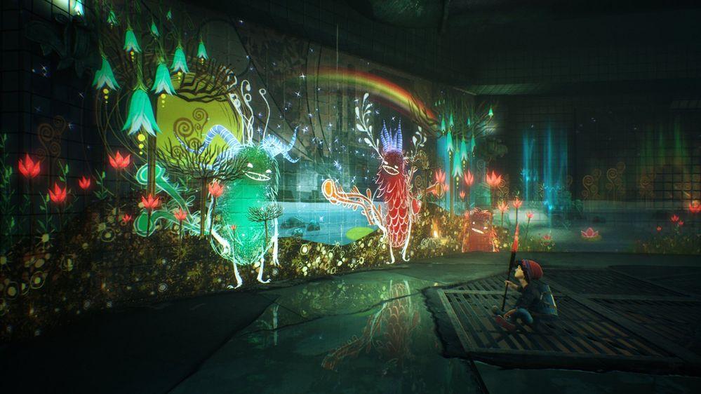 Cambiemos el color de la ciudad!! Fuente: PlayStation (https://www.playstation.com/es-es/games/concrete-genie/)